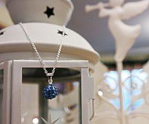 Shamballa nyaklánc, kék