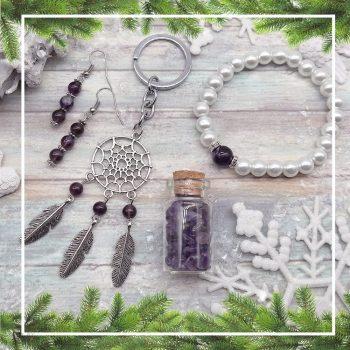 NYUGALOM ametiszt ajándékcsomag (4 részes)
