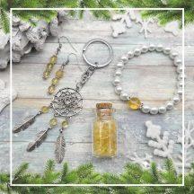 PÉNZÁRAMLÁS citrin karácsonyi ajándékcsomag (4 részes)