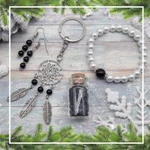 VÉDELEM ónix karácsonyi ajándékcsomag (4 részes)