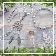 EGÉSZSÉG hegyikristály karácsonyi ajándékcsomag (4 részes)
