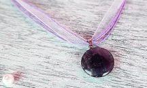 ISTENEK KÖVE (ametiszt medál) nyaklánc