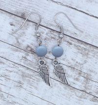 Angyali segítség fülbevaló - angelit